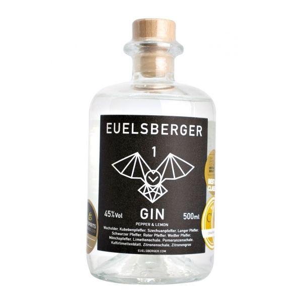 Euelsberger Gin #1 Pepper & Lemon 500ml 45% Vol.
