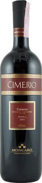 """Terre Cortesi Moncaro """"Cimerio"""" Rosso Conero Riserva DOCG 2014"""