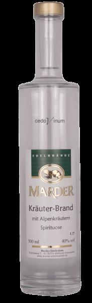 Mader Kräuter-Brand mit Alpenkräutern Spirituose 40%
