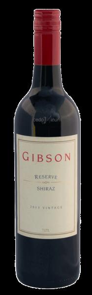 Gibson Reserve Shiraz 2013