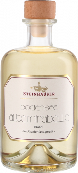 Steinhauser Bodensee Alte Mirabelle im Akazienfaß gereift 40%, 500ml