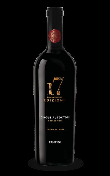 """Farnese Vini """"Edizione Cinque Autoctoni Special Edition"""" VdT Rosso Jg 2015"""